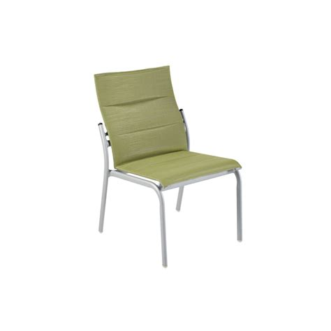 Armless Patio Chairs Armless Nesting Padded Side Chair Krt Concepts Patio Furniture