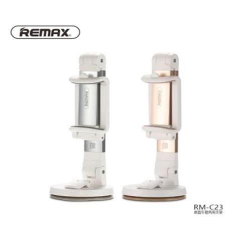 Remax Dashboard Universal Car Holder For Smartphone R Diskon remax dashboard universal car holder for smartphone rm c23 white silver jakartanotebook