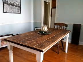 How To Make Dining Table How To Build A Vintage Style Dining Room Table Yourself Removeandreplace