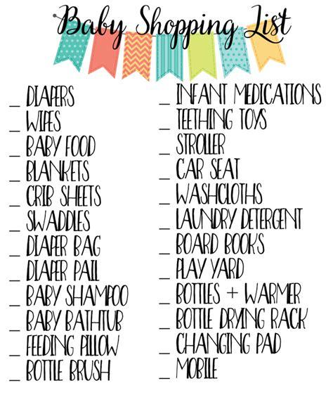 my parentimes printable checklists 9 babys layette new baby checklist printable baskan idai co