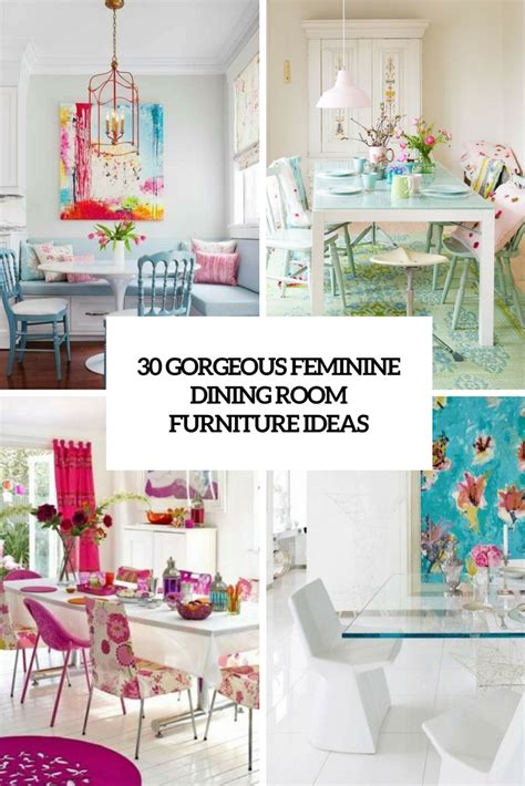 Gorgeous Dining Room Tables by 30 Gorgeous Feminine Dining Room Furniture Ideas Digsdigs