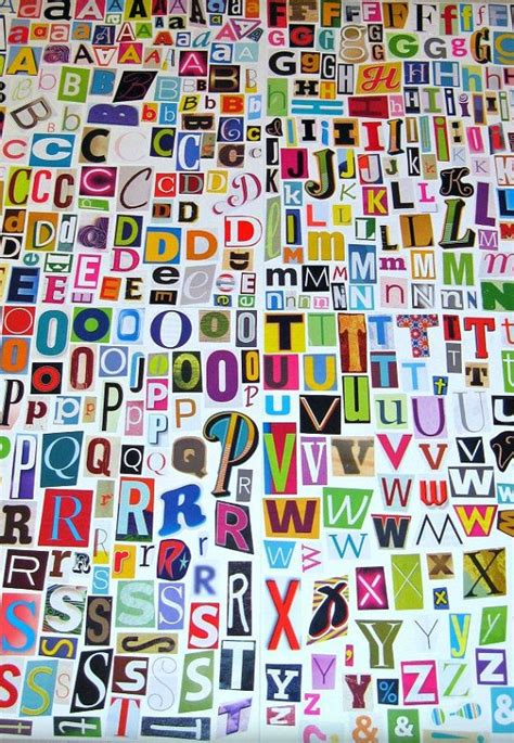 Letter Collage