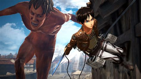 Attack On Titan 3 attack on titan 2 nintendo switch multiplayer gameplay