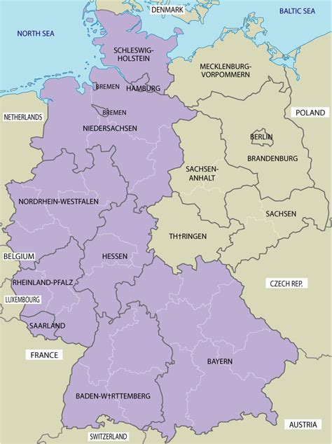 germany map images maps map germany