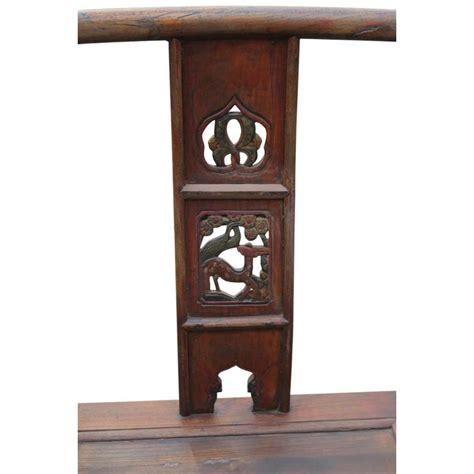 sedie cinesi sedia cinese in pino con intagli 67x120x50 codice ma 2862