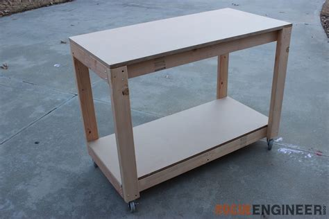 diy bench plans easy portable workbench plans rogue engineer