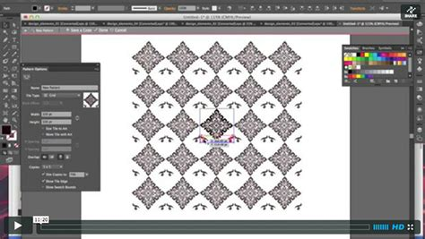 pattern making with adobe illustrator create custom vintage patterns with adobe illustrator