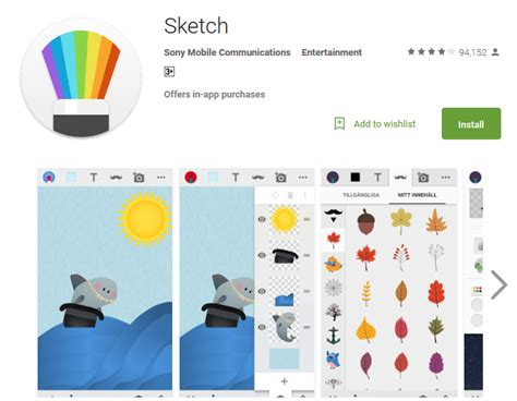 sketch app free drawing android app