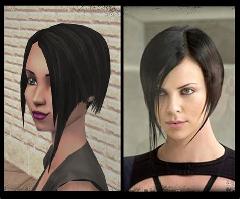 aeon flux black s hairstyle 1000 images about my hair style on pinterest aeon flux