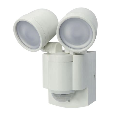 battery operated picture lights home depot iq america white battery operated motion sensor twin led