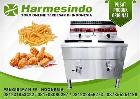 jual mesin penggorengan gas deep fryer fry  alat masak