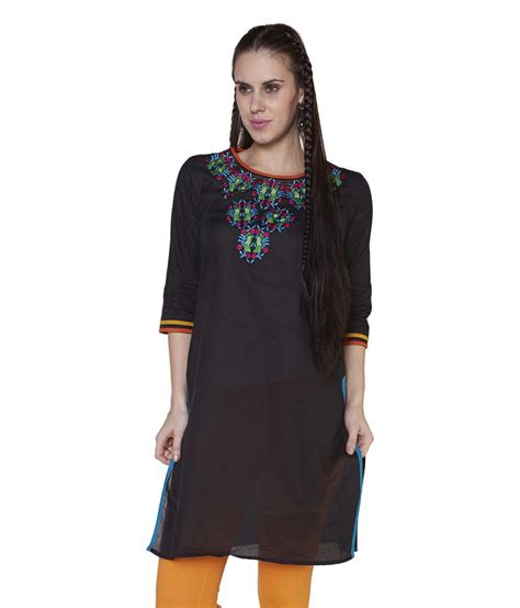 globus black cotton knitted v neck kurti price globus black cotton knitted neck kurti price in india buy globus black cotton knitted