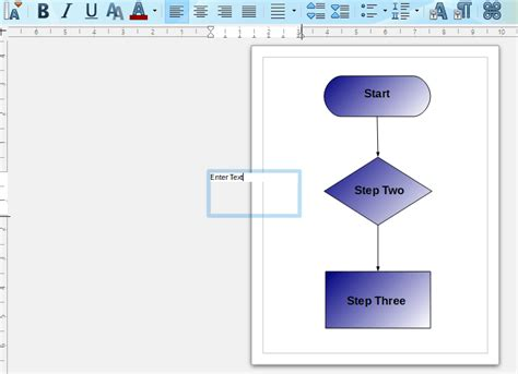 flowchart in office how to set up a flowchart with the libreoffice draw