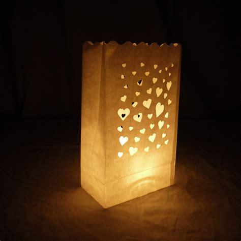lanterns for tealights white paper luminary bags lanterns for tealights