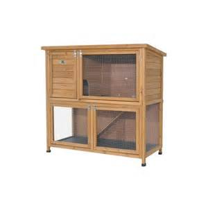 Rabbit Hutch Company Deluxe Large Rabbit Guinea Pig Double Hutch With Under Run