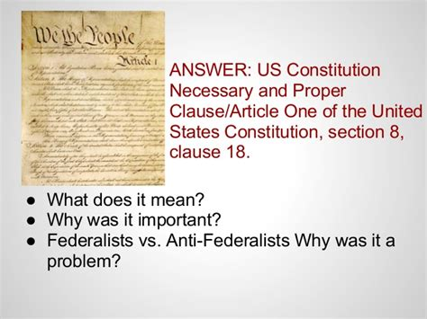 constitution article 1 section 8 constitution article 1 section 8 clause 18 28 images