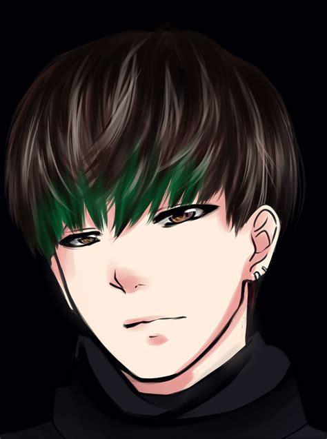 V Anime Drawing by Bts V By Xogichan On Deviantart
