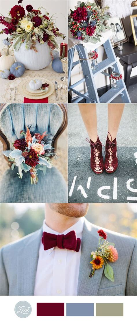 colors for a wedding top 10 fall wedding color ideas for 2017 trends wedding