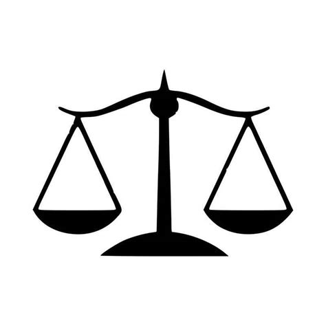Law Justice Scale Lady Justice Lawyer Vinyl Decal Sticker Law Scale Of Justice