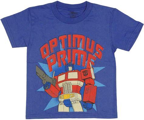 Sandal Print Transformer Optimus Prime transformers prime juvenile t shirt