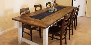 Farmers Bedroom Furniture by Remodelaholic Beautiful Farmhouse Dining Table