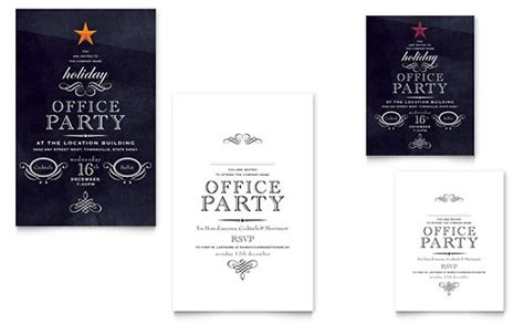 christmas invite wording for the office template office invitation template cimvitation