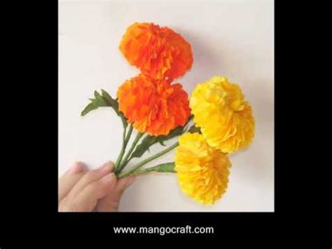 How To Make Different Types Of Flowers With Paper - mangocraft paper flowers