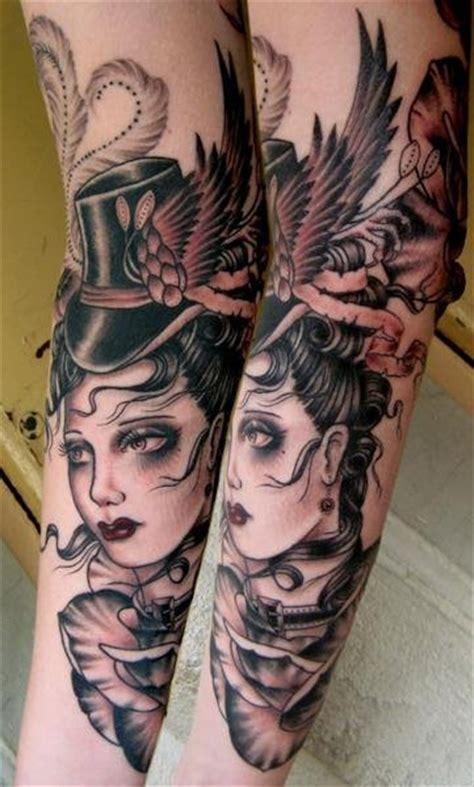 rose hardy tattoos arm by hardy