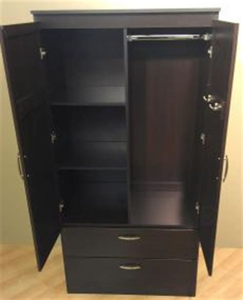 Black Bedroom Armoire by South Shore Acapella Wardrobe Black