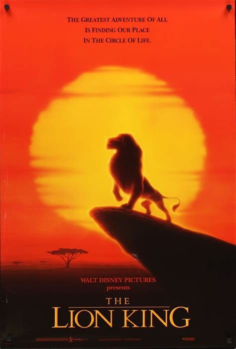 film techniques in lion king what s the most well done movie poster you ve ever seen