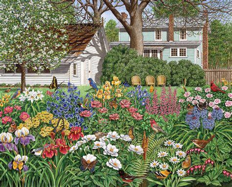 Garden Puzzle by Secret Garden Puzzle Jigsaw Puzzles