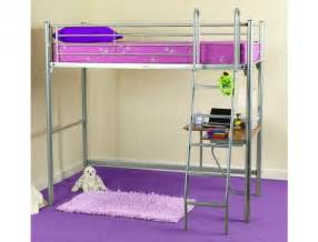 sweet dreams opal metal high sleeper bed frame by sweet dreams