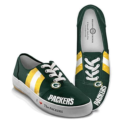 green bay packer sneakers nfl licensed green bay packers s canvas sneakers