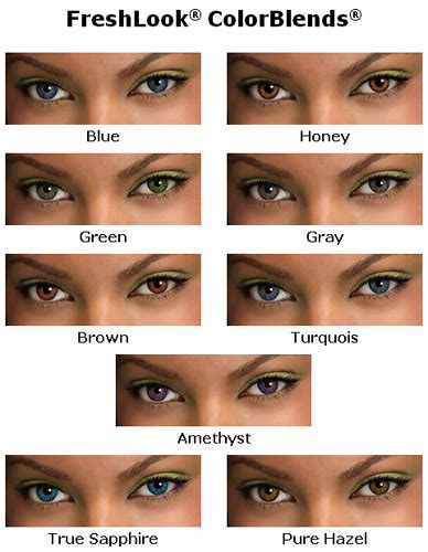contacts colors colored contact lenses eye doctor tells all about