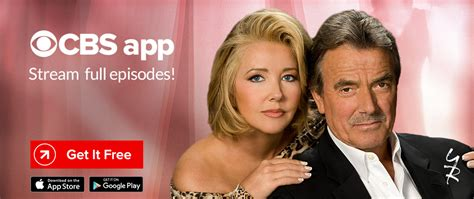 cbs young and restless show the young and the restless on cbs com