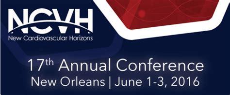 11th annual barnabas health cardiovascular symposium 17th annual conference of new cardiovascular horizons
