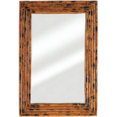 bamboo bathroom mirror bamboo frame mirror beach d 233 cor shop