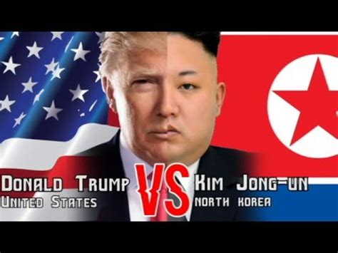donald trump vs kim jong un donald trump vs kim jong un short video today youtube