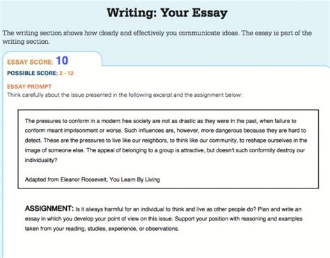 Testmasters Essay Format by Exles Of Sat Essays Exles Of Sat Essays 28 Sat Writing Sle Essays Sat Essay Template