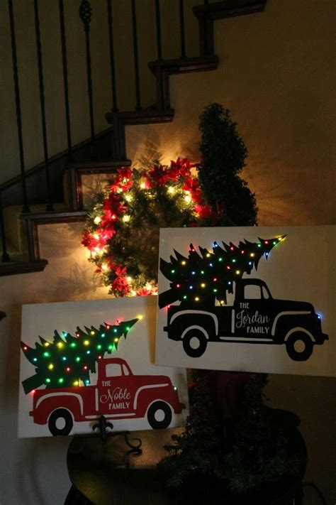 lighted canvas christmas pictures best 25 light up canvas ideas on pinterest christmas