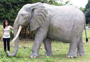 elephant statue african elephant life size statue