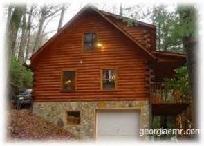 blairsville vacation rental cabin located within