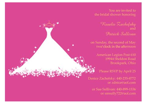 bridal shower invitations backgrounds jdk invitations march 2010