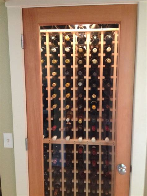 Closet Wine Rack by No Space Is Small For A Wine Cellar Here Is A
