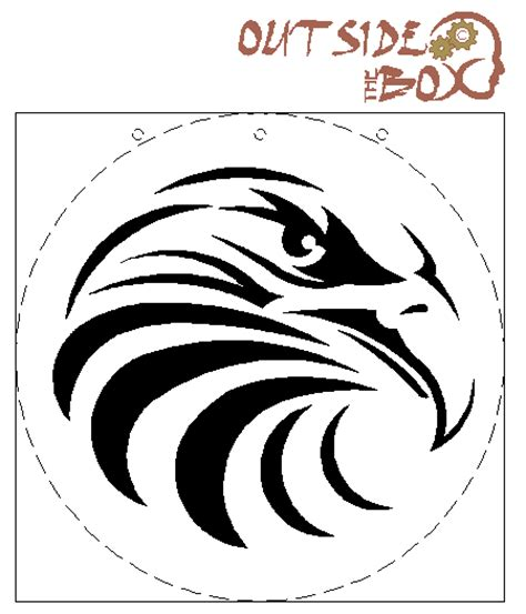 printable free scroll saw patterns printable leathercraft patterns bald eagle scroll saw