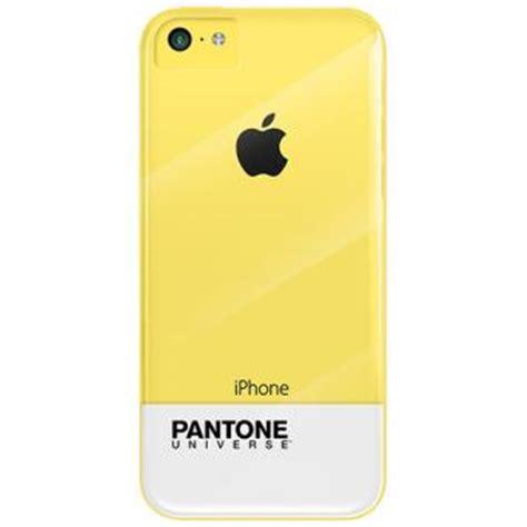 Casing Iphone 5c Promo M E coque scenario pantone universe pour iphone 5c jaune