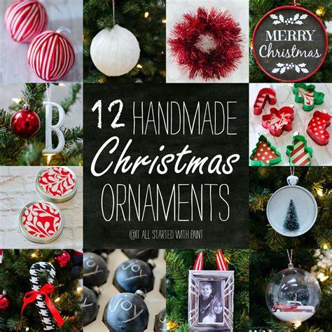 handmade ornaments ideas handmade ornaments