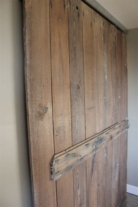 Reclaimed Wood Barn Door Laundry Pinterest Recycled Barn Doors