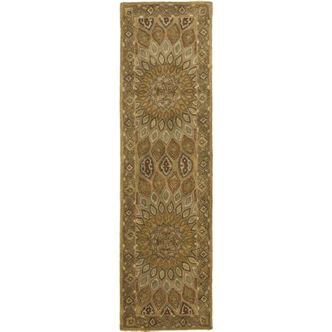 Safavieh Hand Tufted Heritage Brown Grey Wool Area Rugs Grey And Brown Area Rugs