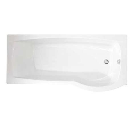 Roca Shower Bath roca giralda left hand acrylic shower bath 1700 x 800mm